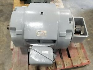 Reliance Dual Shaft 100 Hp 3 Phase Electric Motor 444tsc Frame 1185 Rpm 2264sr