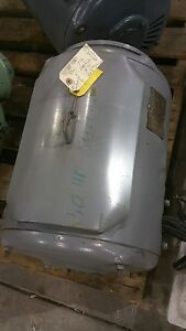 Lincoln 50 Hp 3 Phase Electric Motor Tm4667 shipping Available 2194sr
