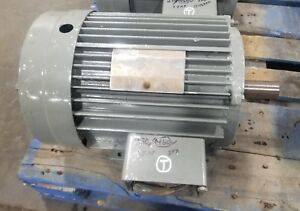 Lincoln 7 5 Hp 3 Phase Electric Motor 213t Tv 2996 1745 Rpm 3503sr