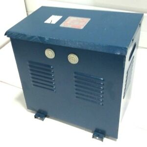 New Polylux 5 Kva Electric Transformer 480v To 230v 200v 3 Phase 50 60hz 6amp
