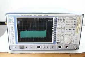 R s Rohde Schwarz Fsem30 20hz 26 5 Ghz Spectrum Analyzer