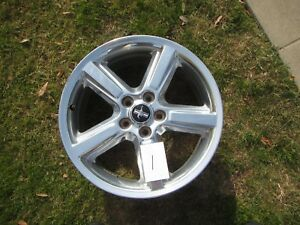 Set Of 4 Mustang Wheels Pony 18 Inch