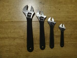 Mac 12 10 8 6 Adjustable Wrench 4 Piece Aw95312 Aw95310 Aw95308 Aw95306