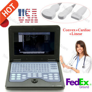 Cms600p2 Laptop Ultrasound Digital Diagnostic Scanner Machine With 3 Probes usa