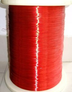 Polyurethane Enameled Copper Wire Magnet Wire 2uew 155 0 8mm Red a40s Lw
