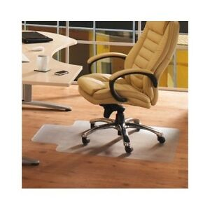 Chair Mat Floor Hard Protector Chairmat Office Desk Wood Wooden Plastic Clear