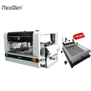 Neoden4 Pick And Place Machine 40 Electric Feeders With A Free Solder Printer