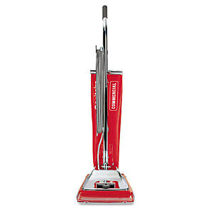 Sanitaire Quick Kleen Commercial Upright Vacuum With Vibra groomer Ii 17 5lb Red