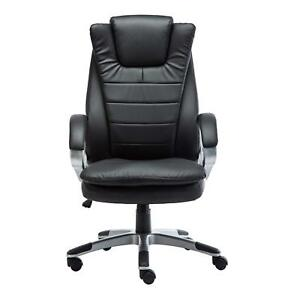Greenforest Office Chair Pu Leather Executive Computer Desk Chair With Headrest