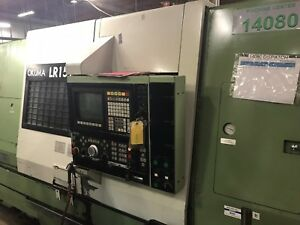 Okuma Lr 15 Mw Cnc Multi Axis Turning Center Twin Turret Spindle 7 Axis Lathe