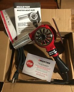 Master Appliance Hg 201a 200 300 Degree Fahrenheit 120 volt Master Heat Gun