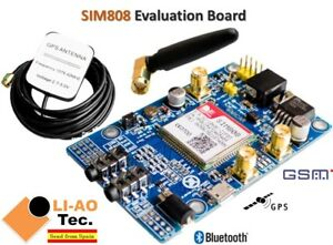 Sim808 Module Gsm Gprs Gps Development Board Ipx Sma With Gps Gsm Antenna