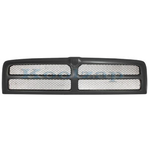 94 02 Ram Pickup Truck Front Black Grill Grille Assembly Ch1200188 68031295aa