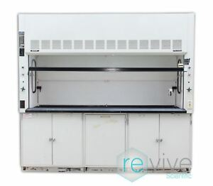 Fisher Hamilton Safeaire 8 Fume Hood With Flammable Cabinets