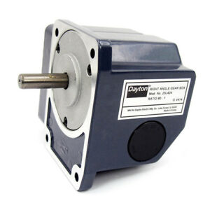 Continuous Speed Reducer Right Angle Gear Box 90 1 Ratio 23l424