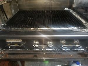Radiance 36 Gas Char Broiler Grill From A Working Environment 100 Operationa