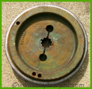 B2461r Ab3844r John Deere B 50 Flywheel With Ring Gear Running Tractor
