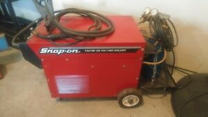 Snap on 120 Volt Mig Welder Ya219b With Extras Mask Goggles Gloves
