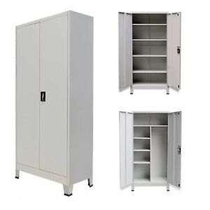 Modern Locker Office Storage Furniture Filing Cabinet With 2 Door Locking System