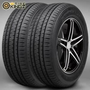 2 New Bridgestone Dueler H l Alenza Plus P245 70r16 106h Tires 2457016 245 70 16