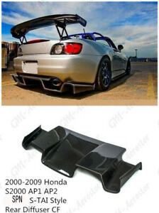 Carbon Rear Diffuser For 2000 2009 Honda S2000 Ap1 Ap2 Spoon S Tai Style