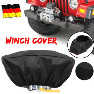 Waterproof Soft 420d Winch Dust Cover Fits Driver Recovery 5 000 13 000 Capacity