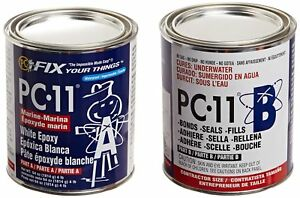 Pc Products 640111 Pc 11 Two part Marine Grade Epoxy Adhesive Paste 4 Lb In