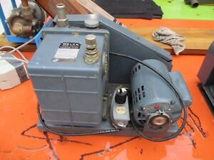 Welch 1402 Duo seal Duoseal Vacuum Pump W Franklin Electric 1 2 Hp Motor Works