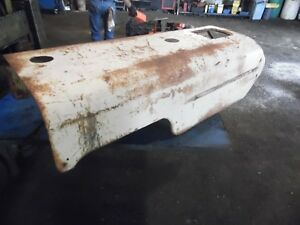 1957 Case 320 Gas Farm Tractor Hood nice