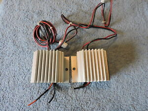 Lot Of 2 Servicemate Translectric Sm2412 2 5 Volt Converters Output 13 8vdc