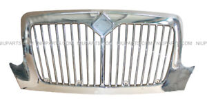 Grille Chrome Fit International 4200 4300 4400 4900 Truck