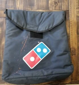 Domino s Pizza Insulated Thermal Large Delivery Bag Hot Some Stains