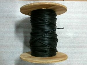 337 Feet Of New 14 Awg Tggt Black High Temperature Wire 60 Day Warranty