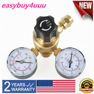 Co2 Argon Mig Tig Flow Meter Regulator Weld Gauge Gas Welder Cga580 0 4000psi