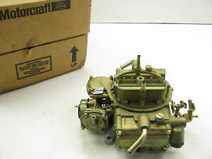 Motorcraft Ca 3480 Holley Carburetor 1985 1987 Ford E 250 E 350 F 250 F 350 5 8l