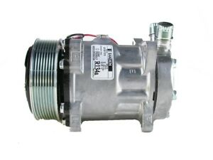 A c Compressor W clutch For Sanden 4710 4711 Caterpillar made In Usa