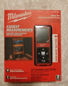 Milwaukee 48 22 9802 150 foot Heavy Duty Measuring Laser Distance Range Meter