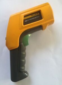 Fluke 568 Ir Thermometer Usb Data Logging Infrared Contact Rugged 40 To 800 c
