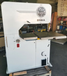 Doall V 36 Vertical Bandsaw Beautifully Refurbished