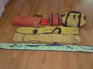 Lot Of Trimble And Seco Land Surveying Cases And Bags