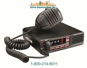 New Vertex standard Vx 4500 Uhf 400 470 Mhz 45 Watt 8 Channel Two Way Radio