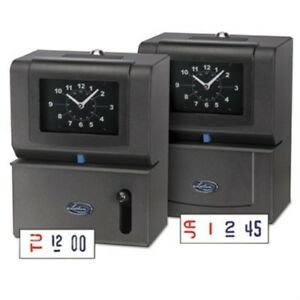Heavy duty Time Clock Mechanical Charcoal