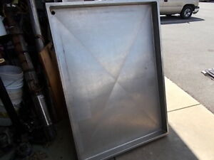 Seafoof Display Ice Table Stainless Steel With Drain And Adiustable Height