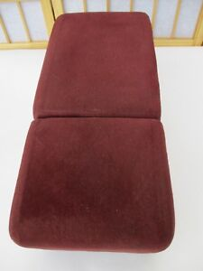 91 96 Roadmaster Caprice Impala Ss Fleetwood Armrest Cup Holder Console Maroon