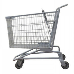 Jumbo Shopping Cart Basket Convenience Grocery Variety Retail Store Lot Of 6 New