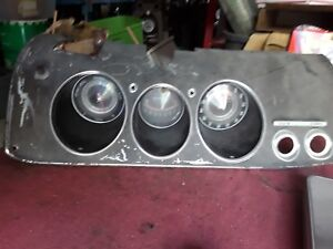 Corvair Monza Dash For Manual Transmission With Aftermarket Tachometer