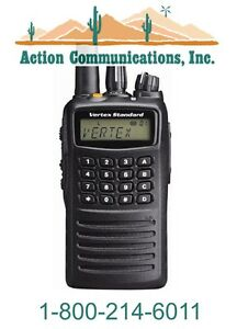 New Vertex standard Vx 459 Uhf 400 470 Mhz 5 Watt 512 Channel Two Way Radio