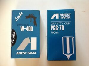 Anest Iwata W400 lv 144g With Pcg 7d Cup