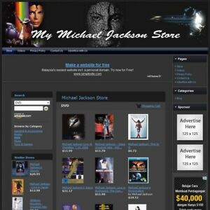 Micheal Jackson Store Fully Automated Home Business Amazon Google Affiliate