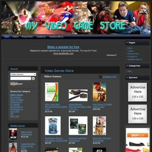 Video Game Store Fully Automated Home Based Business Amazon Google Affiliate